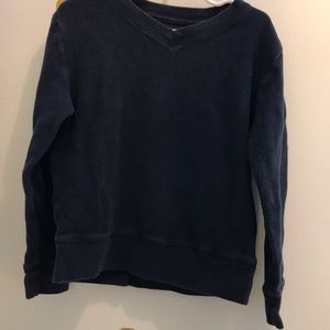 Navy sweatshirt - great for uniforms.